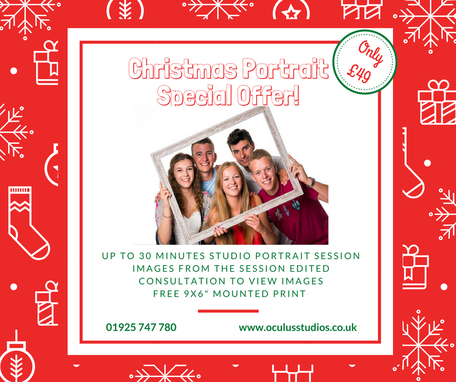 Christmas Family Portrait Offer