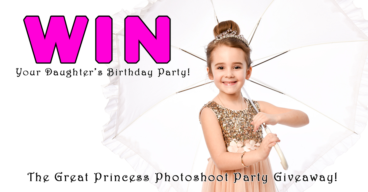 Princess Photoshoot Party Giveaway