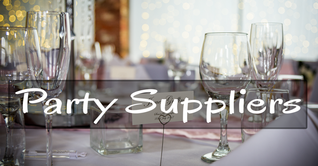 Party suppliers in the North West UK