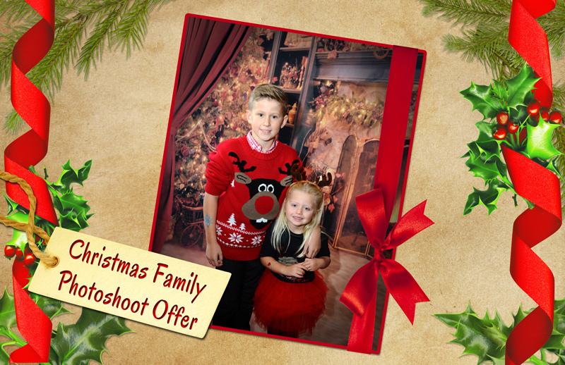 Christmas Family Photoshoot Offer From Oculus Studios