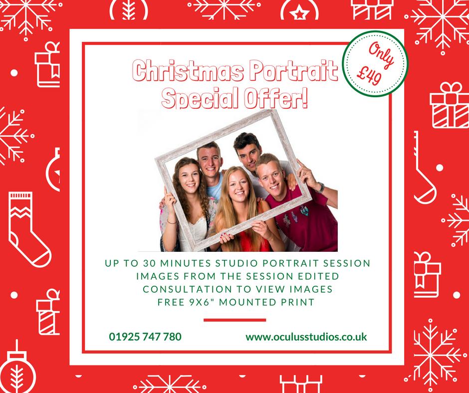 Christmas Family Portrait Offer