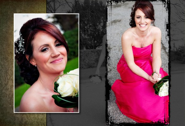 Photograph of bridesmaid - Cheshire Wedding Photographer