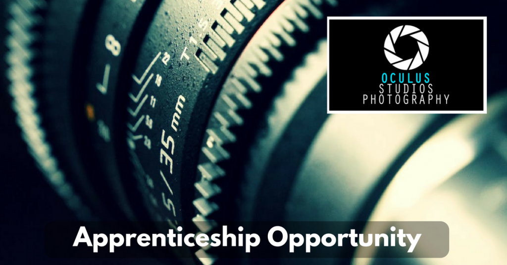 Apprenticeship Opportunity at Oculus Studios Photography