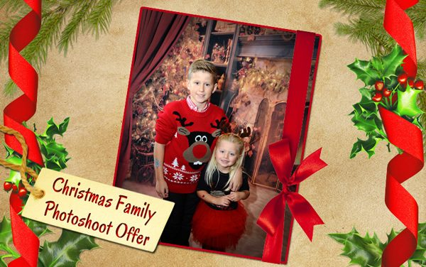 Christmas Family Photoshoot Offer