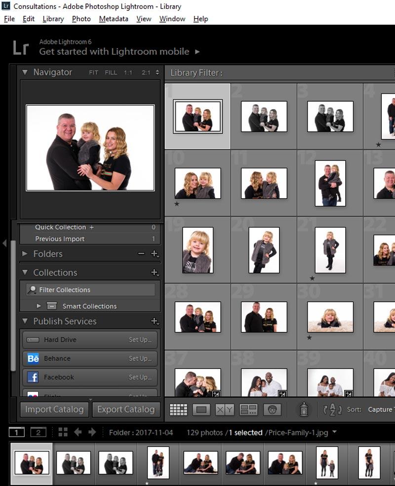 Studio Lighting Software: Oculus Studios Photography